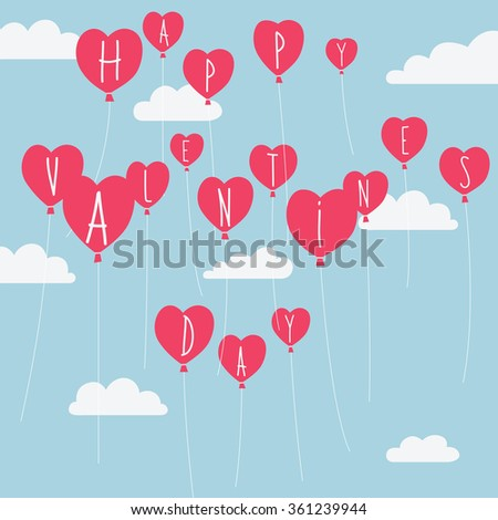 Valentine's Day vector illustration #361239944