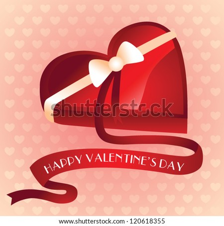 Valentine's heart gift