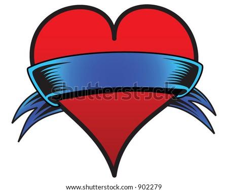 valentine heart. vector : Valentine#39;s heart