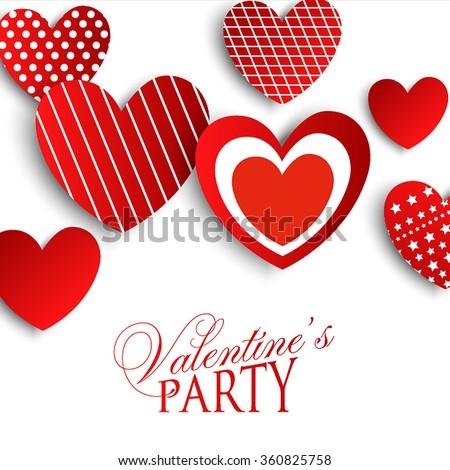 Valentine's Party Invitation  #360825758
