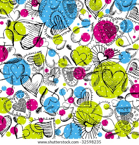 stock-vector-valentines-background-with-