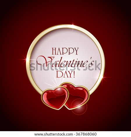 valentines background with