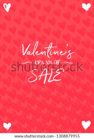 Valentines Day A4 size Banner Concept
