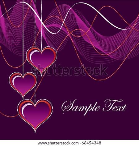 Valentines Day Background. eps10.