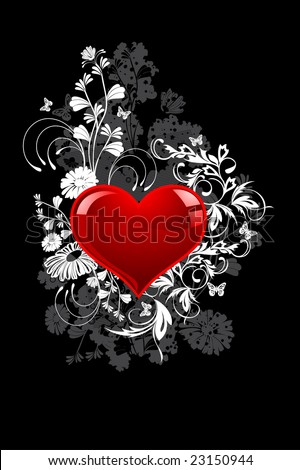 Valentines Day background for your design - stock vector