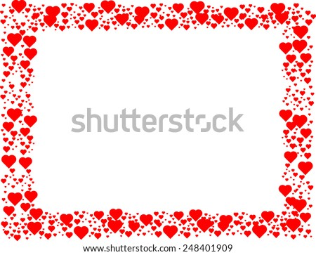 Vector Borders For Valentine S Day Download Free Vector Art Stock