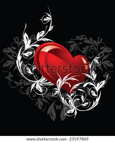 Valentines Day background. Vector illustration for design