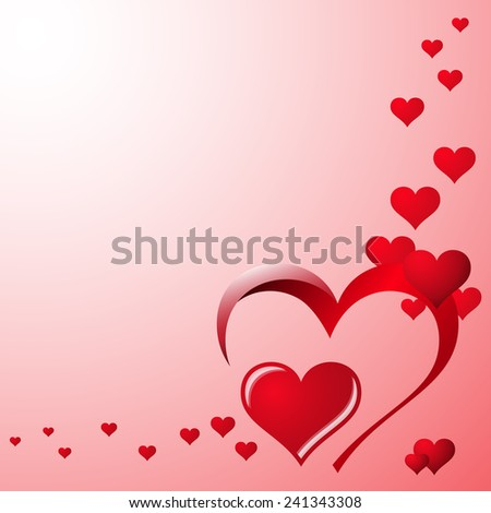valentines day background with