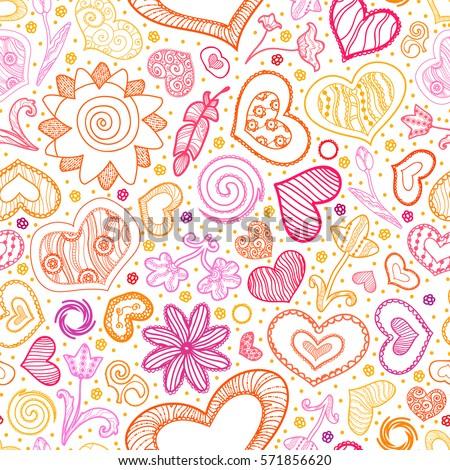 valentines day card ornate