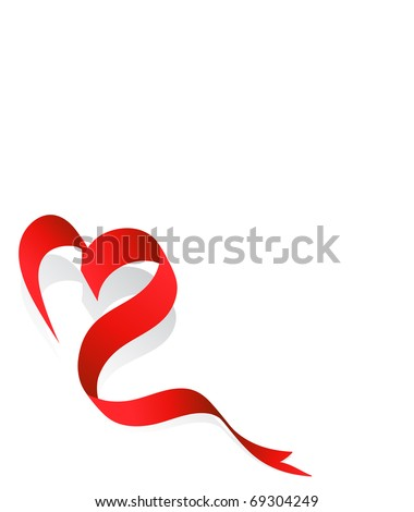 Valentines day card, vector illustration