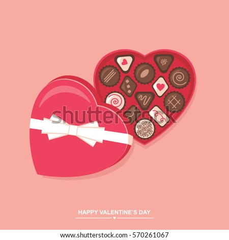 valentines day chocolate candy