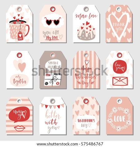 valentines day collection with