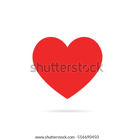 Valentines Day Heart vector illustration Foto stock ©