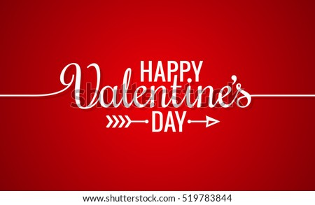valentines day line vintage