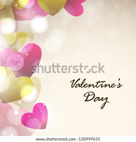 Valentines Day, Love Background. EPS 10.