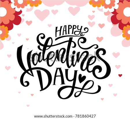 Happy Valentines Day Beautiful Hearts Greeting Download Free