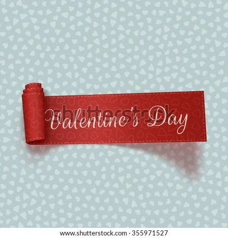 valentines day realistic red
