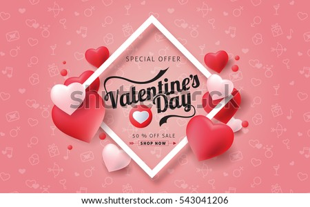Valentines Day Labels - Download Free Vector Art, Stock Graphics ...