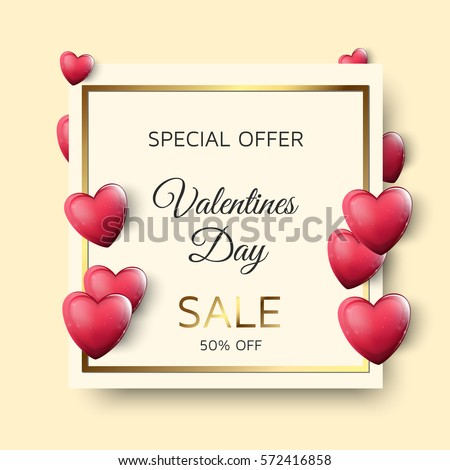 valentines day sale image with