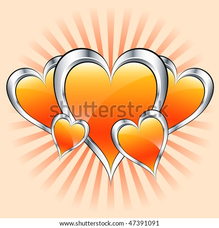 stock-vector-valentines-or-mothers-day-orange-hearts-symbolizing-love-misty-sunburst-rays-in-the-background-47391091.jpg