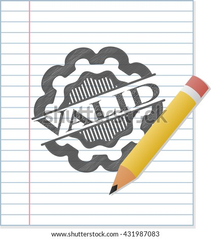 Valid draw (pencil strokes)