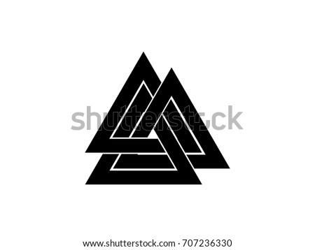 Valknut Symbol Download Free Vector Art Stock Graphics Images
