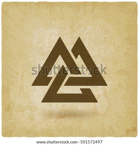 valknut symbol interlocked