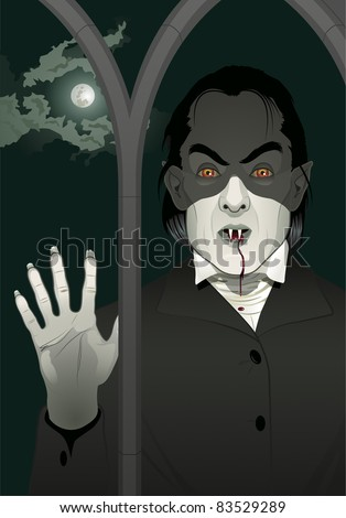 vampire at the window