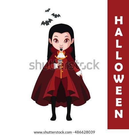 vampire halloween character
