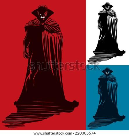 vampire  illustration of