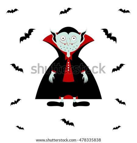 vampire vector cartoon dracula