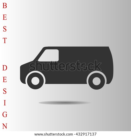 van Icon Vector