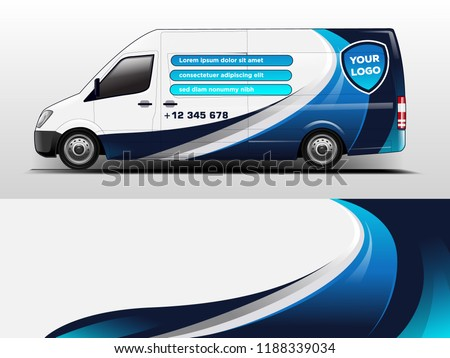 van wrap design for company