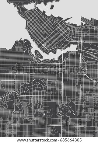 vancouver city plan  detailed