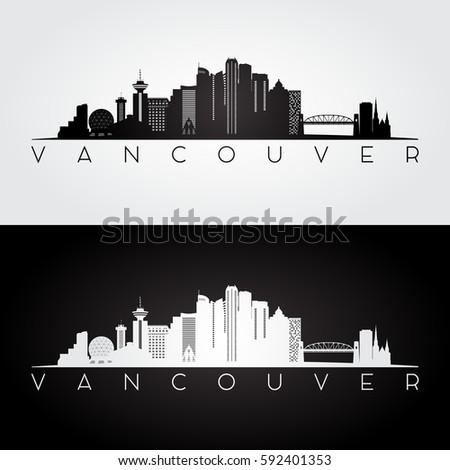 vancouver skyline and landmarks