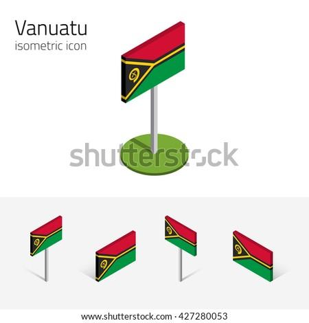 vanuatu flag  republic of