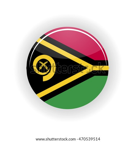 vanuatu icon circle isolated on