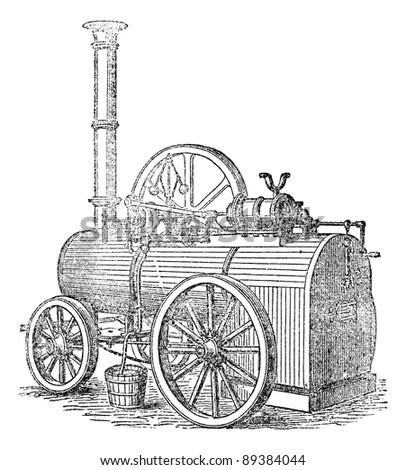 vapor or steam machine  vintage ...