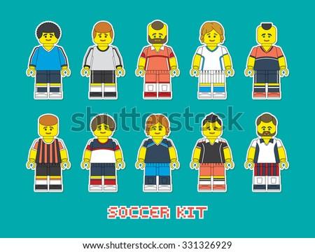 varieties of clubs soccer