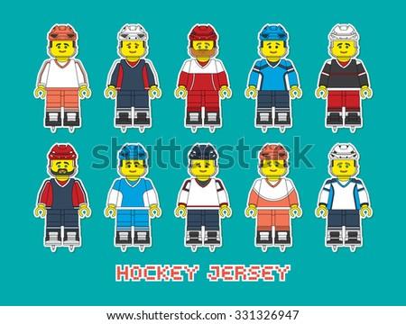 varieties of hockey form in