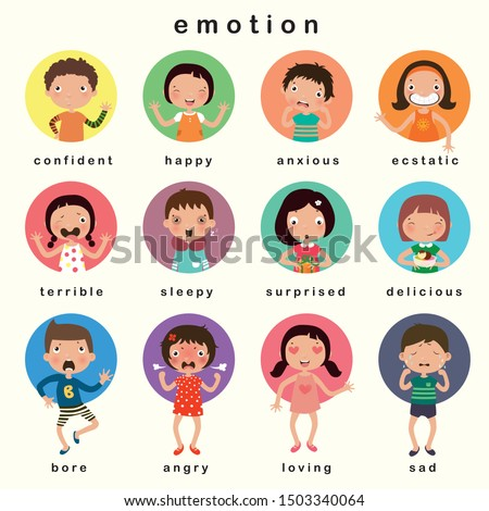 variety of emotions children