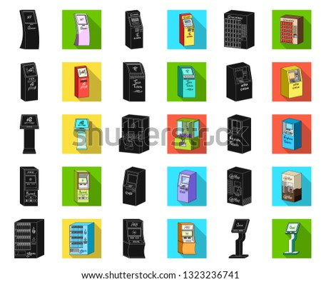 variety of terminals black flat