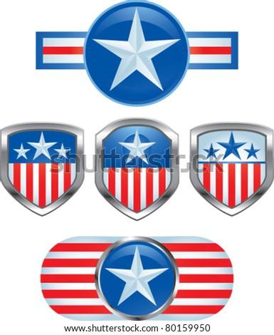 various american pins