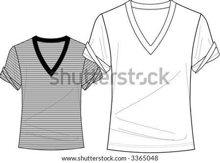 Various clothing design boards clip art for use in clothing industry