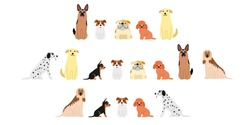 various dogs border set2
