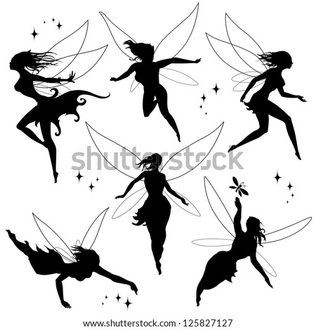 various fairies in different