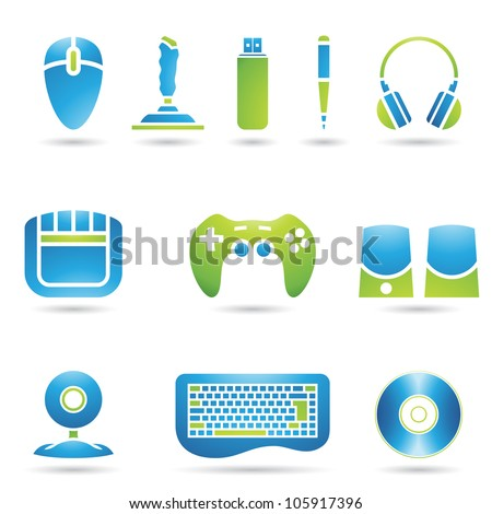 Various graphic design style PC accessories