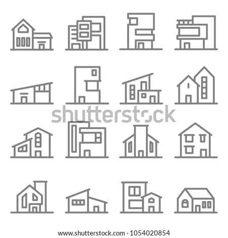 various real estate property