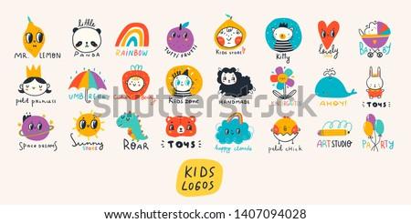 various simple  doodle  cute