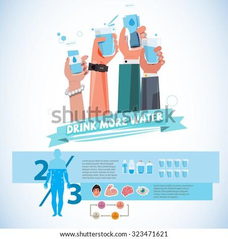 various smart hands holding
